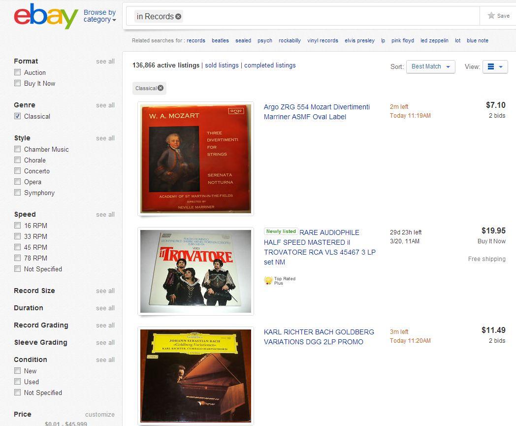 eBay example