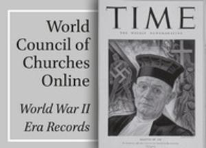 Graphic for World Council of Churches Online: World War II Era Records (Brill)