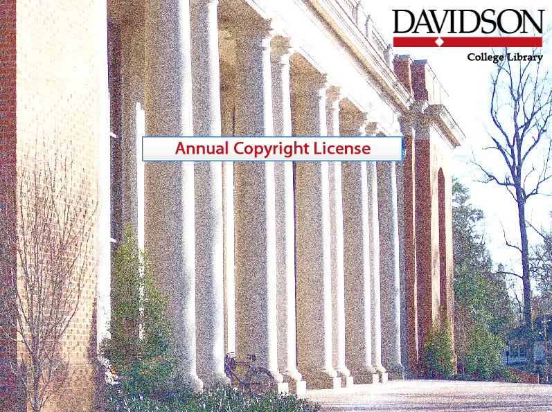 Annual Copyright License Tutorial