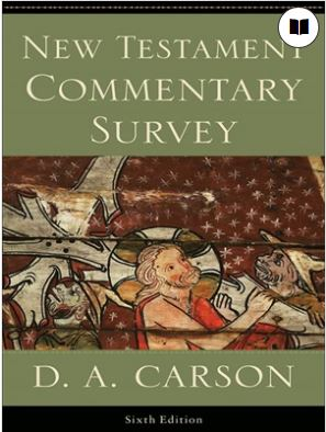 New Testament Commentary Survey - Carson