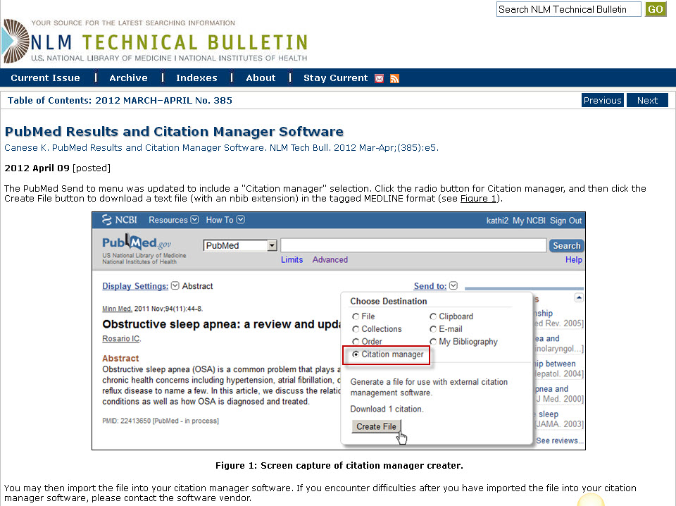 Image of citation manager choice