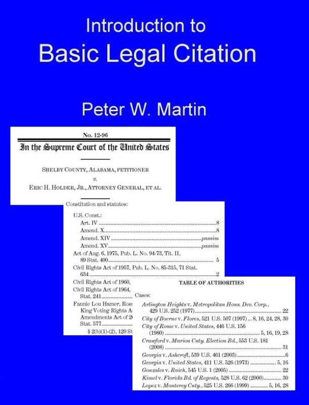 Basic Legal Citation Image