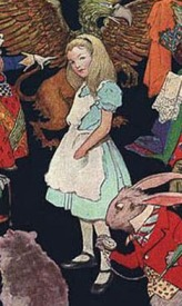 Color illustration of Alice
