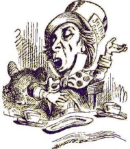 Tenniel illustration of the Mad Hatter