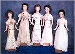 see larger image of early class dolls