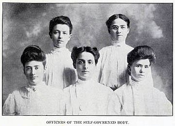 Officers of the self governed body