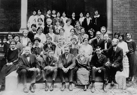 1924 Faculty