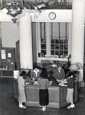 Library at Johnson Hall