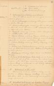 Image of original 1891 Course of Study document