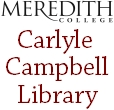 Carlyle Campbell Library :: Meredith College