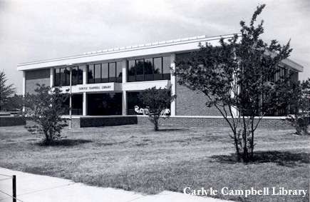 Carlyle Campell Library, ca.1969