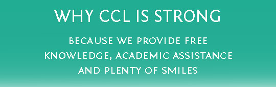 Ad for CCL Strong ideas - free knowledge