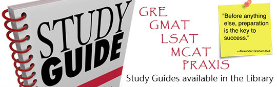 Study Guides available in the library