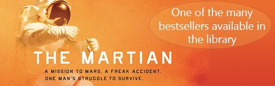 The Martian and Bestsellers ad 2015