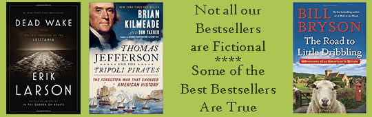 Ad for nonfiction bestsellers