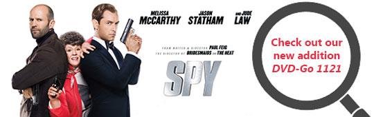 Spy movie ad 2015