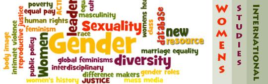 New Women's Studies International database ad
