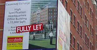 Advertising on Great Victoria St, Belfast