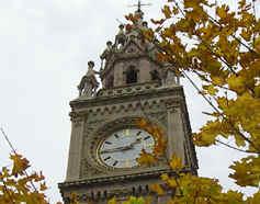 Newly restored Albert Clock, Belfast