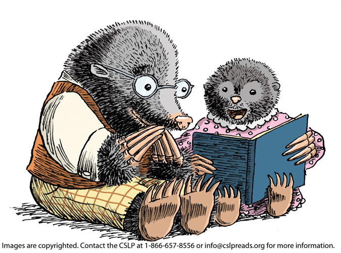 embedded moles reading Tips for Reading to Small Children