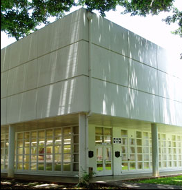 Photograph of State Archives building exterior