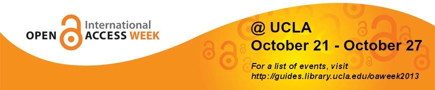 Open Access Week 2013