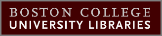 Boston College University Libraries logo