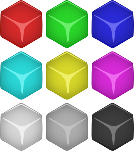 array of cubes