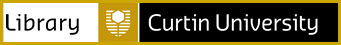 Curtin University Library banner