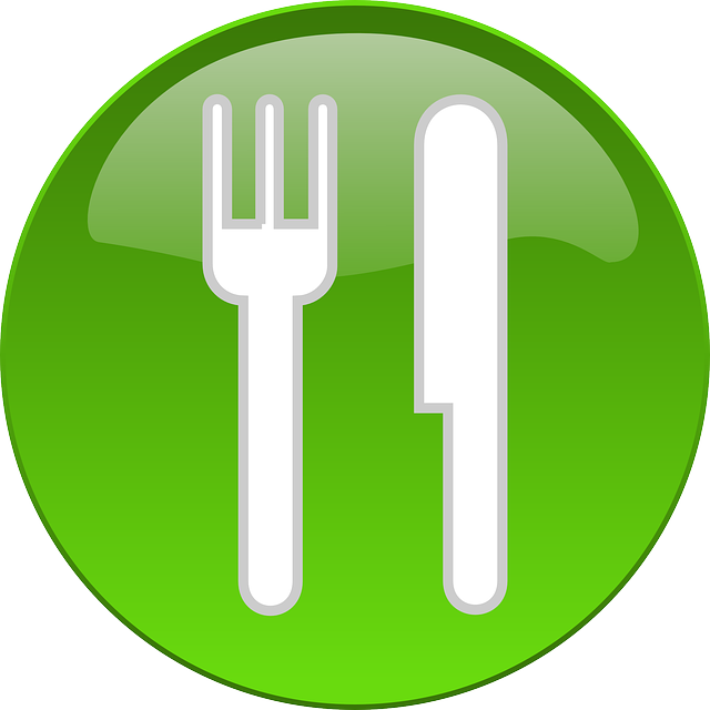 symbol of fork and knife