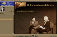 screenshot of video lecture