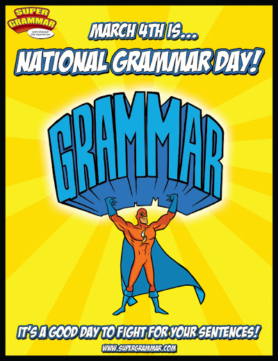 National Grmmar Day Poster