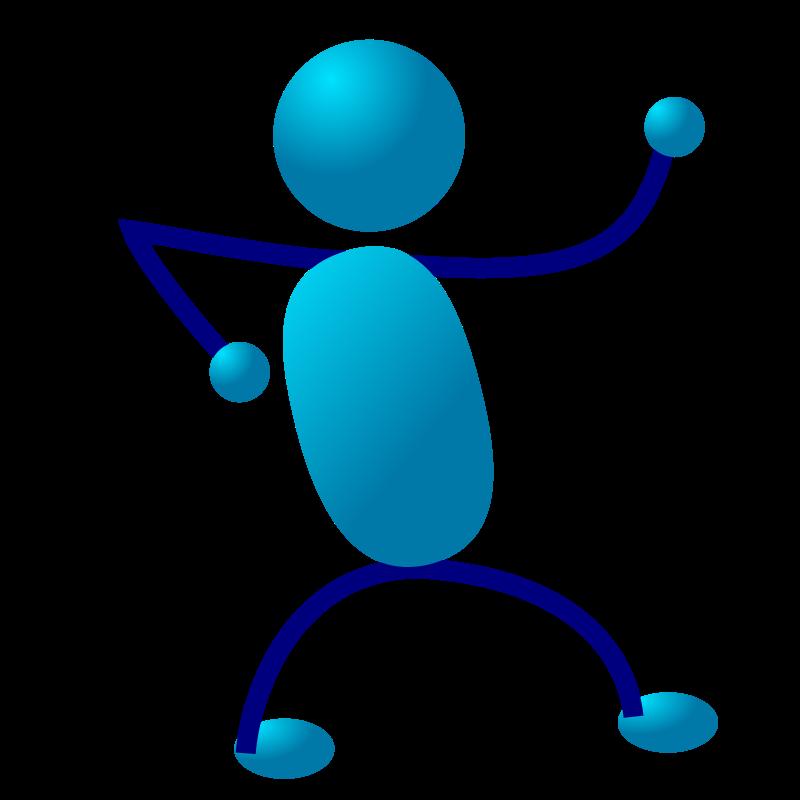 dancing stickman