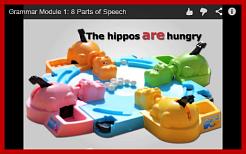 Screenshot of grammar video