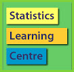 Statistics Learning Center logo