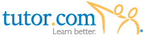 Tutor dot com logo