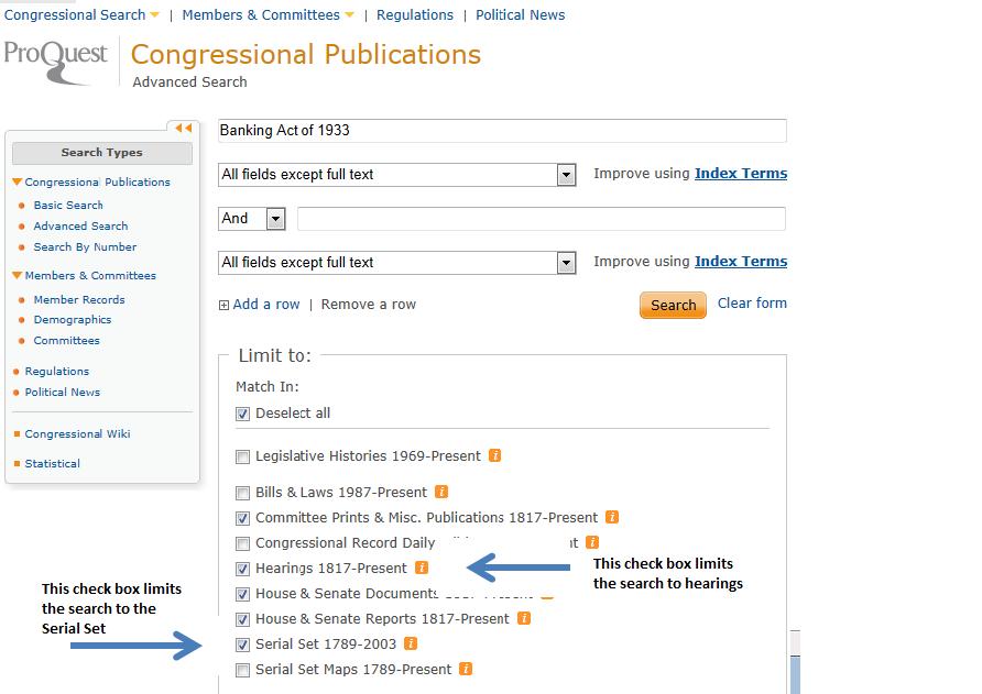 proquest congressional