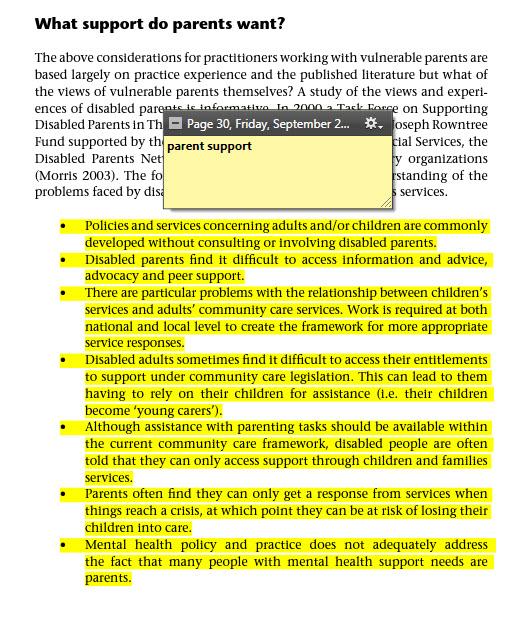 A screenshot of a note in Adobe Digital Editions