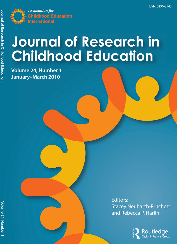 Academic Journal Title - Journal of Research in Childhood Education Cover
