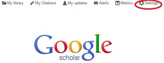 Scholar Settings
