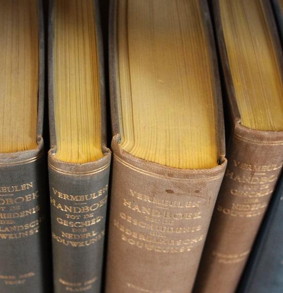 Bild på böcker
