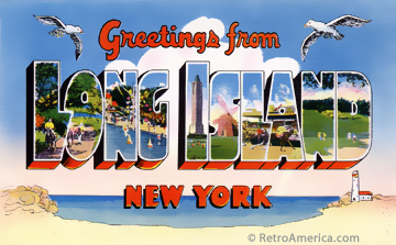 Greeting from Long Island New York image