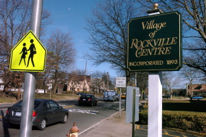 Village of Rockville Centre street sign