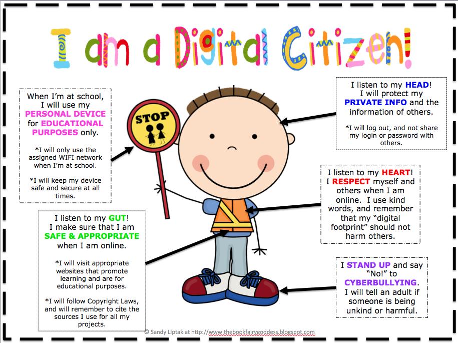 I am a Digital Citizen poster