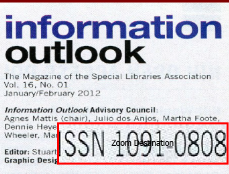 screenshot of info outlook