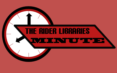 The Rider Libraries Minute