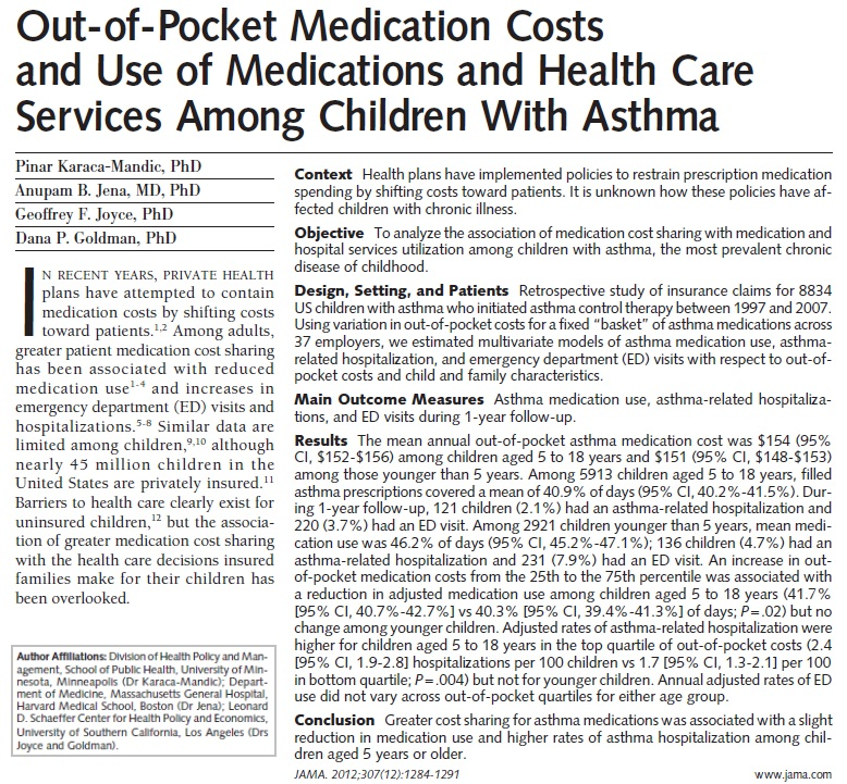 Screen shot from JAMA