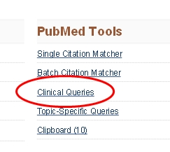 Link for Clinical Queries
