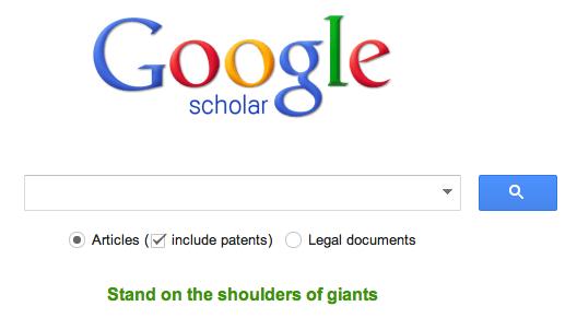 Google Scholar Basic Search