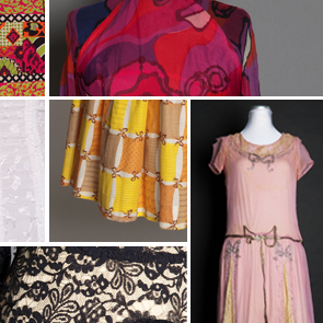 Pictures of various dresses and patterns